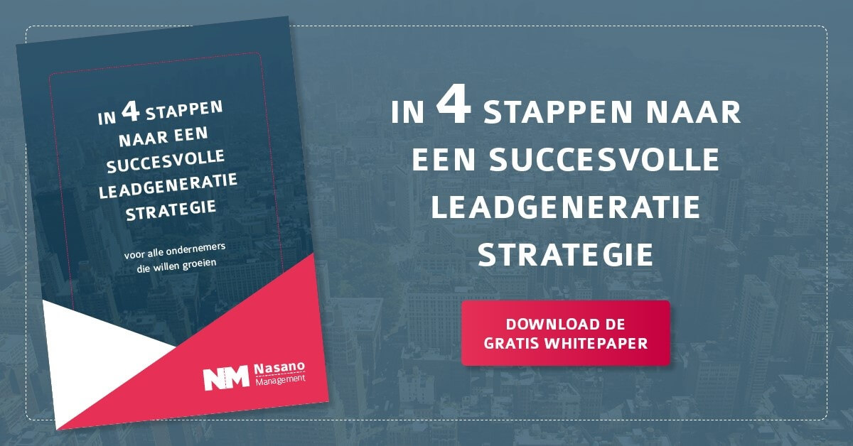 Whitepaper succesvolle leadgeneratie strategie, leadgeneratie, leads genereren